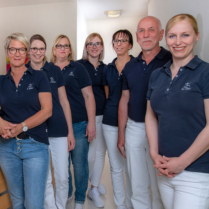 Orthopädie Wernau - Jörg / Ebel - Gruppenbild Team
